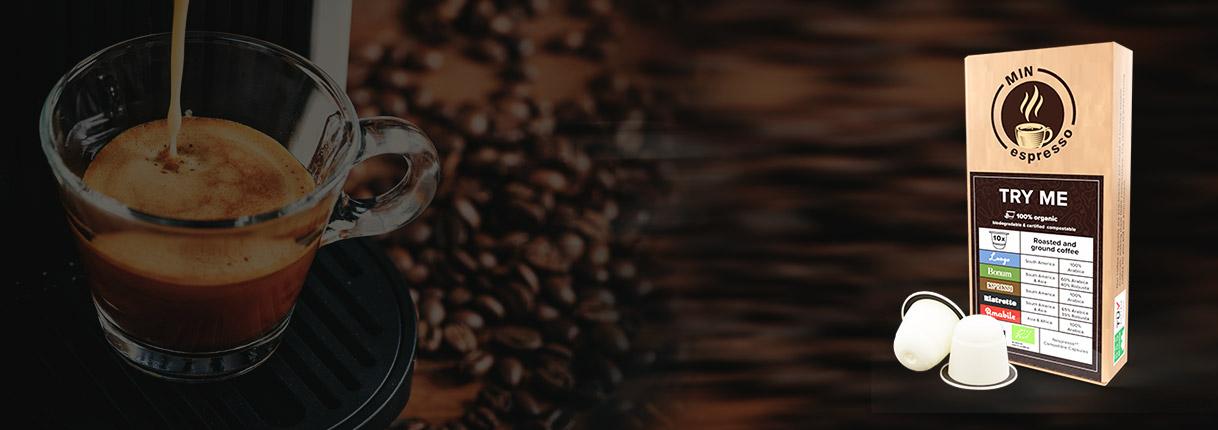 Komposterbara kaffekapslar till Nespresso - prova gratis!